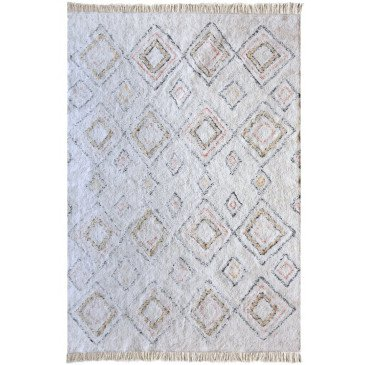 Tapis Salford Ivoire et Multi 290 | www.cosy-home-design.fr