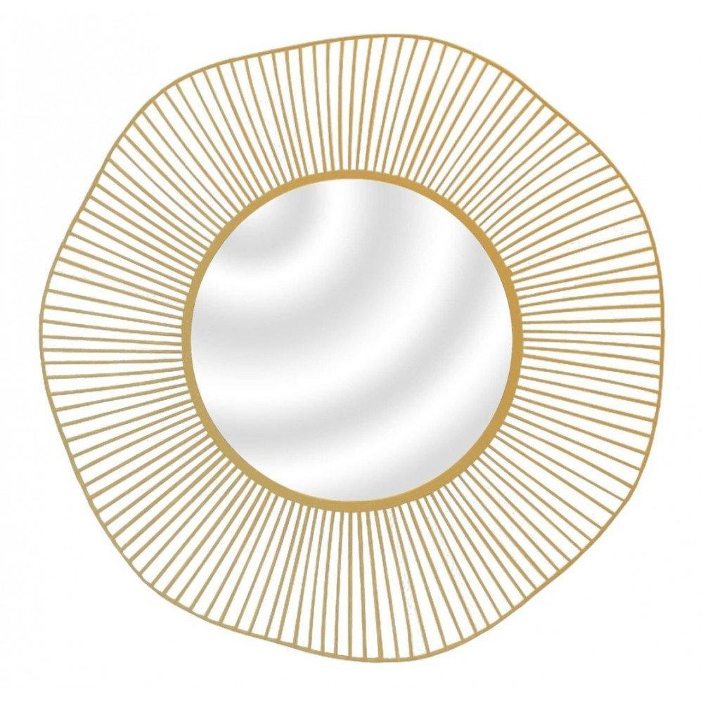 Miroir Légèreté Doré | www.cosy-home-design.fr