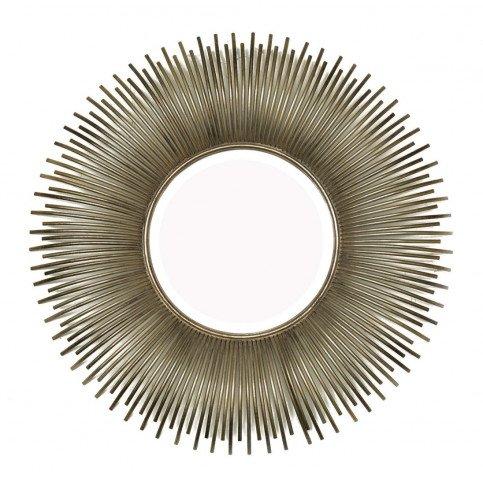 Miroir Soleil Argent Effet Bombé   www.cosy-home-design.fr