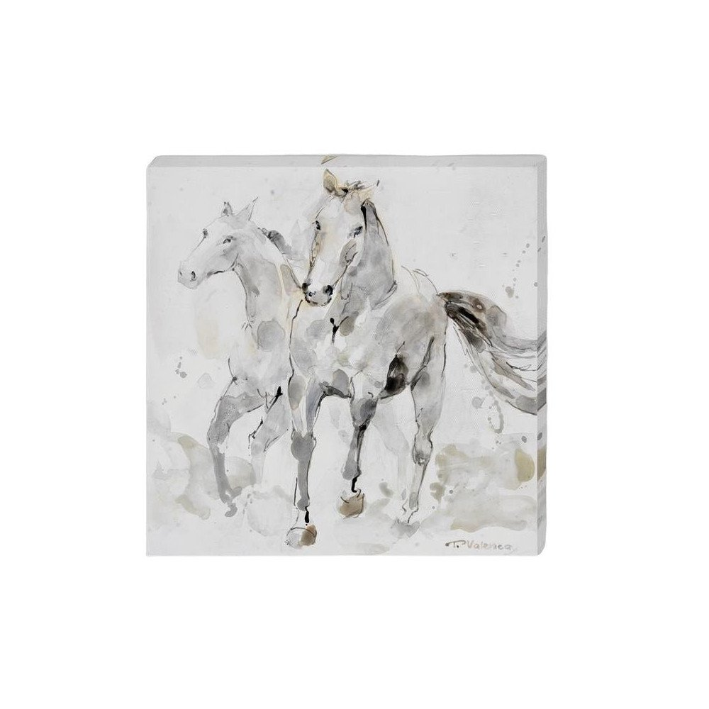 Toile Chevaux | www.cosy-home-design.fr