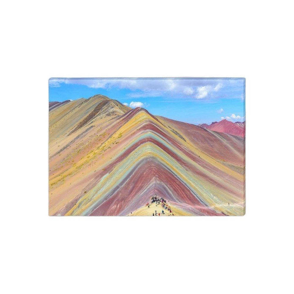 Toile Montagne Pérou | www.cosy-home-design.fr