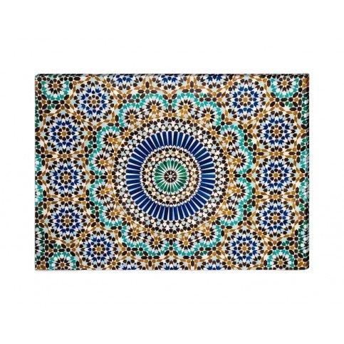 Toile Mosaïque Maroc | www.cosy-home-design.fr
