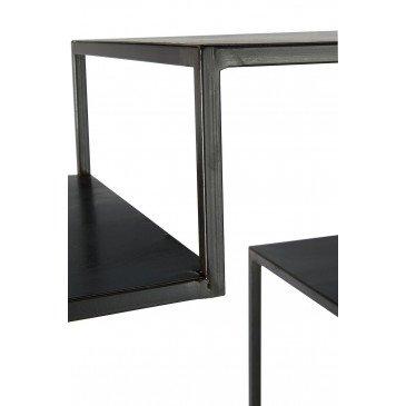 Etagère 6 Etages Métal Noir | www.cosy-home-design.fr