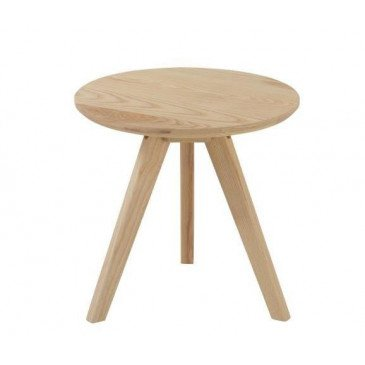 Table Gigogne Scandinave Bois Naturel Petit | www.cosy-home-design.fr