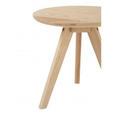 Table Gigogne Scandinave Bois Naturel Petit | www.cosy-home-design.fr