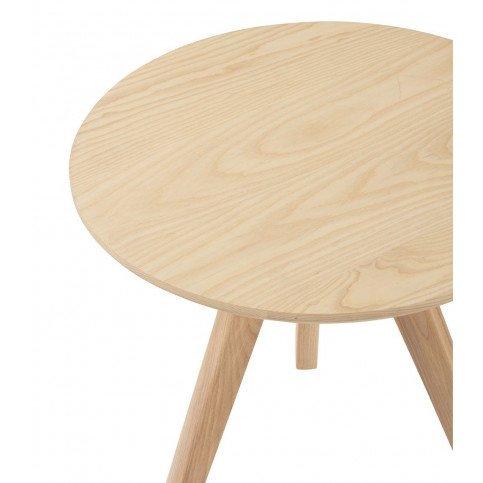 Table Gigogne Scandinave Bois Naturel Large | www.cosy-home-design.fr