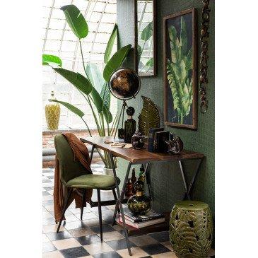 Bureau X Bois/Métal Marron/Noir | www.cosy-home-design.fr