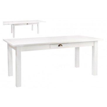 Table Rectangle à Rallonges en Bois | www.cosy-home-design.fr
