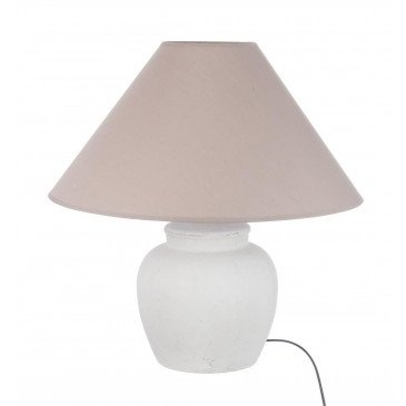 Lampe Céramique Ronde Blanche S | www.cosy-home-design.fr