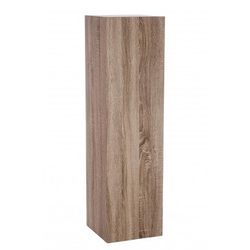 Socle Carré Bois Naturel Medium | www.cosy-home-design.fr