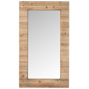 Miroir Rectangulaire Bois Naturel | www.cosy-home-design.fr