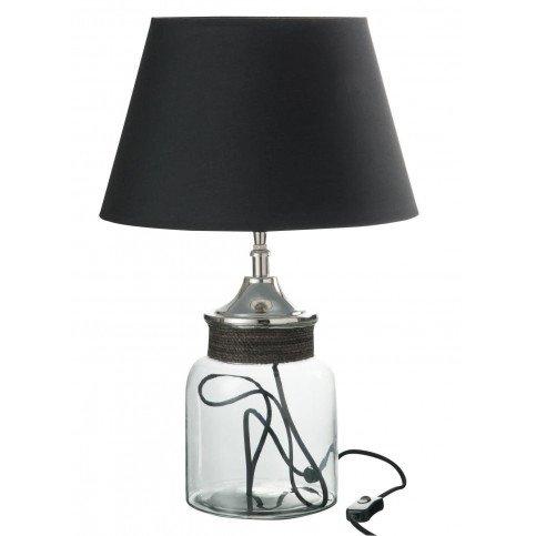 Lampe en Verre et Abat-Jour Noir | www.cosy-home-design.fr