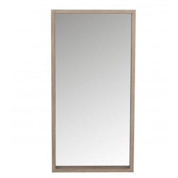 Miroir Rectangulaire en Bois Naturel | www.cosy-home-design.fr