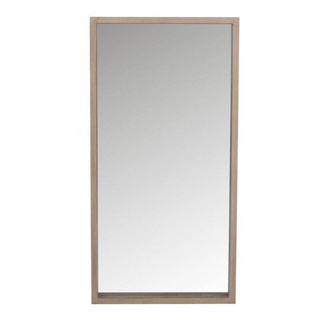 Miroir Rectangulaire en Bois Naturel | www.cosy-home-design.fr