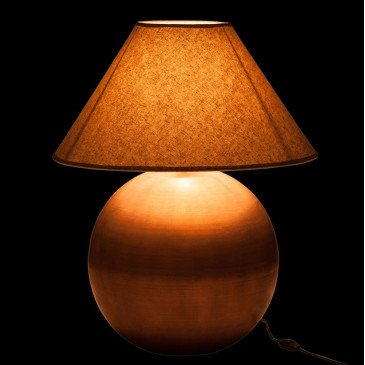 Lampe Boule Or et Naturel | www.cosy-home-design.fr