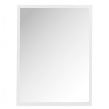 Miroir Rectangle Bois Blanc | www.cosy-home-design.fr