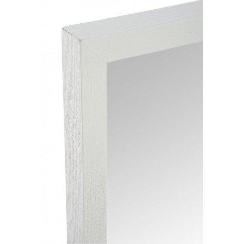 Miroir Rectangle Bois Blanc | www.cosy-home-design.fr