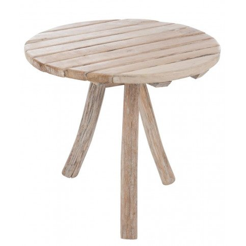 Table Ronde 3 Pieds Bois Naturel | www.cosy-home-design.fr