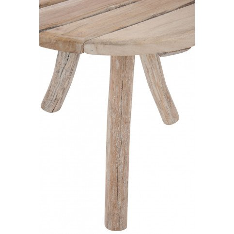 Table Ronde 3 Pieds Bois Naturel   www.cosy-home-design.fr