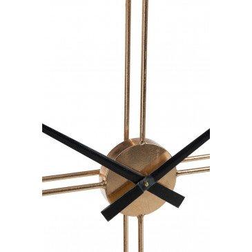 Horloge Ronde Métal Or   www.cosy-home-design.fr