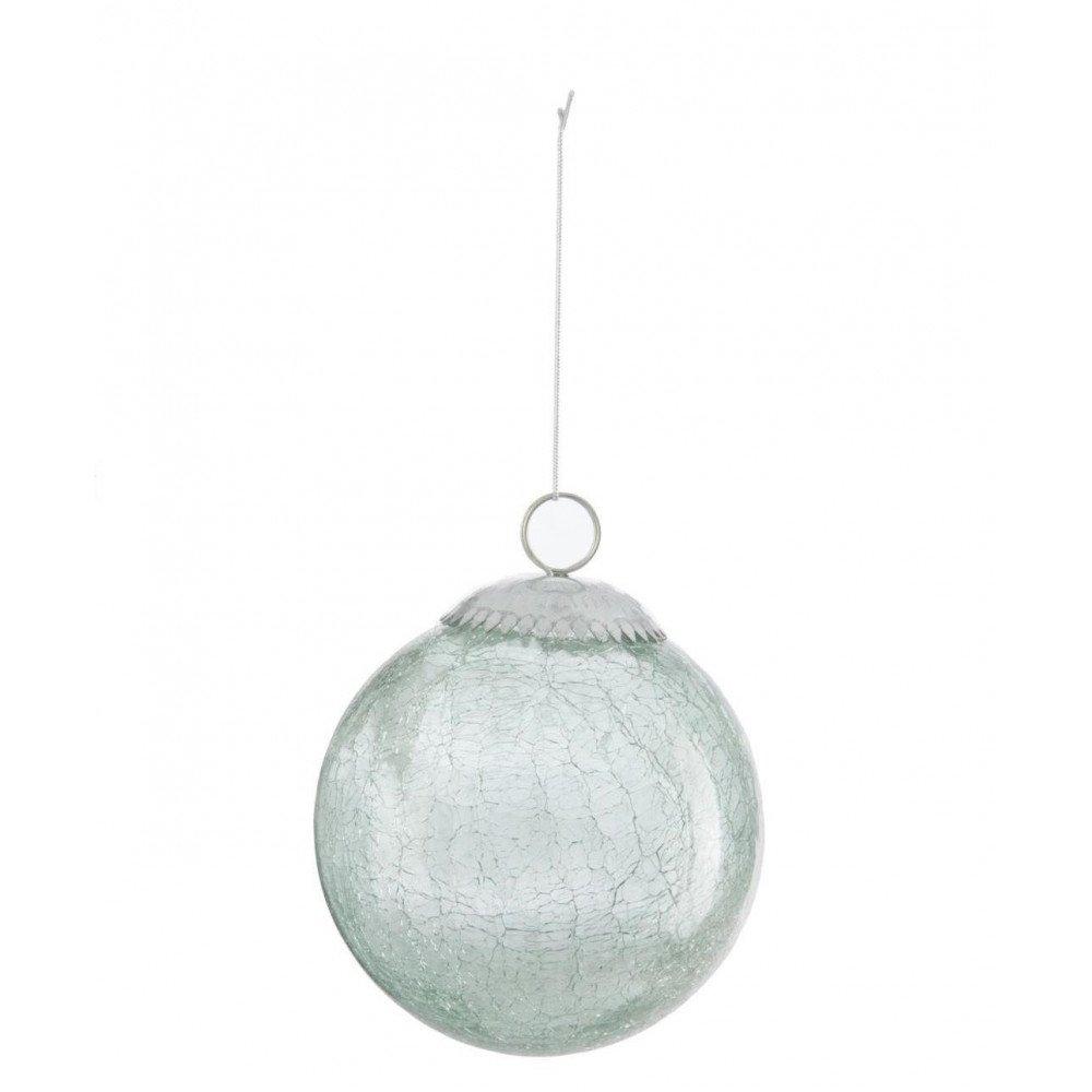 Boules de Noël Verre Menthe M | www.cosy-home-design.fr