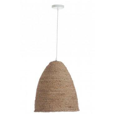 Suspension Ovale Chanvre Naturel | www.cosy-home-design.fr