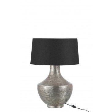 Lampe orientale en Aluminium Argentée | www.cosy-home-design.fr