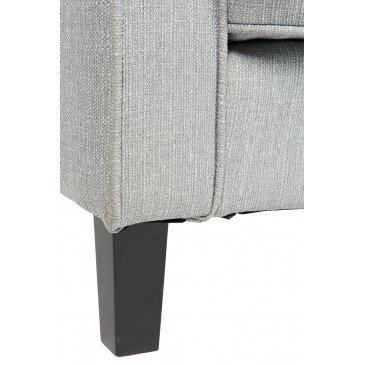 Canapé Lit 3 Places Textile Polyester Bleu Clair | www.cosy-home-design.fr