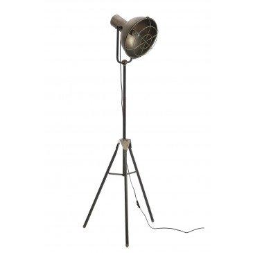 Lampe Sur Pied Ronde Métal Gr | www.cosy-home-design.fr