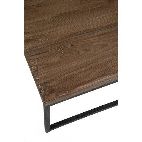 Set De 2 Tables Basses Bois/Métal Marron/Noir | www.cosy-home-design.fr