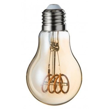 Ampoule Led A19 Ambre 4 Loops E27 | www.cosy-home-design.fr