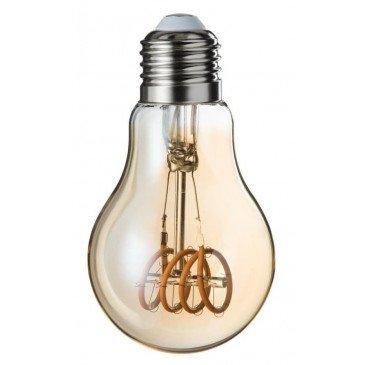 Ampoule Led A19 Ambre 4 Loops E27 | www.cosy-home-design.fr