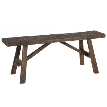 Banc Bois Marron | www.cosy-home-design.fr