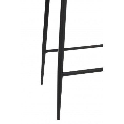 Chaise Bar Cuir/Métal Noir | www.cosy-home-design.fr