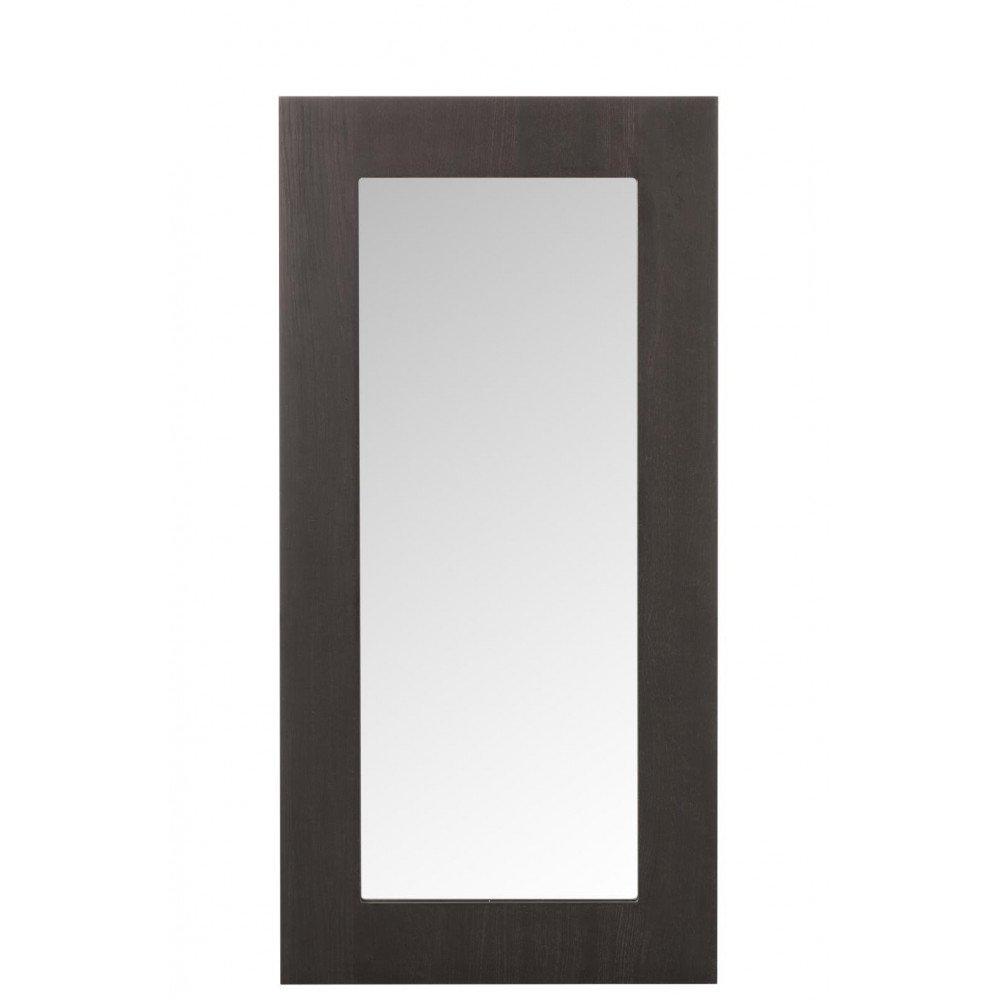 Miroir Rectangulaire Bois Verre Marron Foncé | www.cosy-home-design.fr