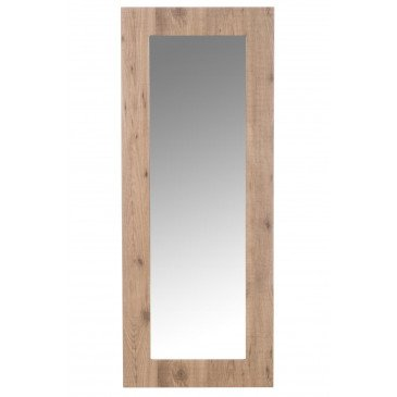 Miroir Rectangulaire Bois Verre Naturel | www.cosy-home-design.fr