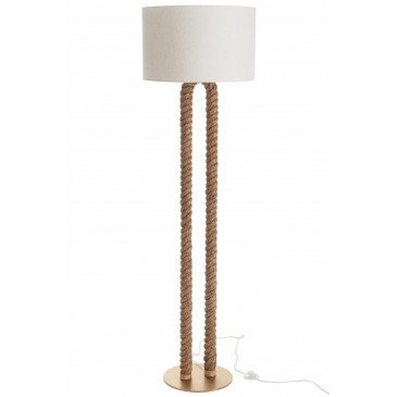 Lampe En Forme De U Jute Naturel | www.cosy-home-design.fr