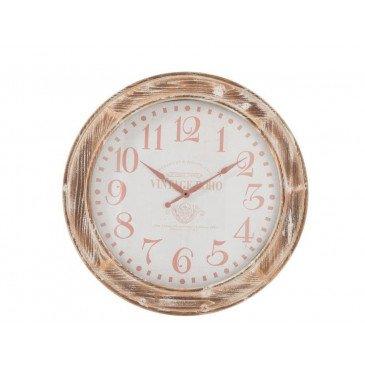 Horloge Ronde MDF Bois Petit | www.cosy-home-design.fr