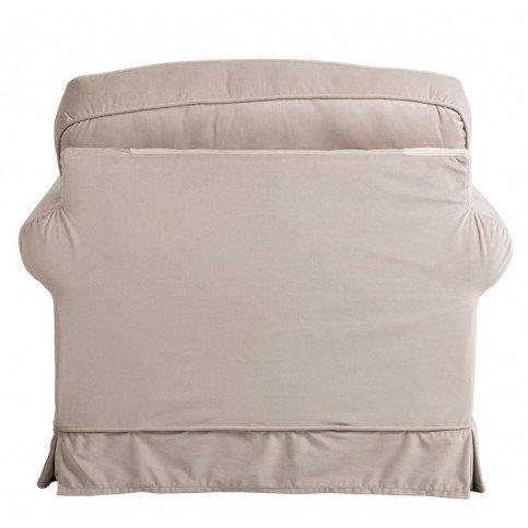 Fauteuil 1 Personne Textile Beige | www.cosy-home-design.fr