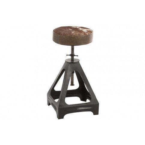 Chaise Ajustable Métal/Cuir Noir/Mix | www.cosy-home-design.fr