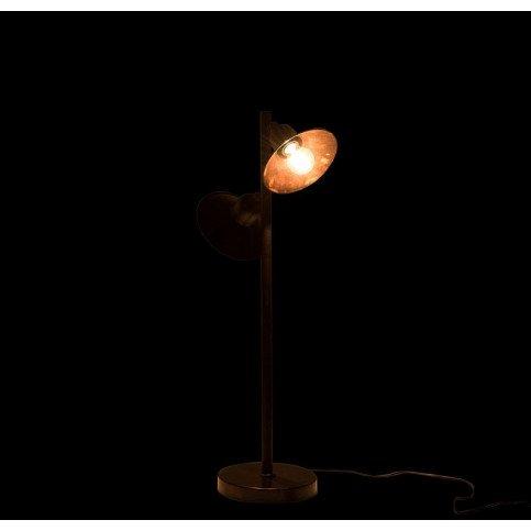 Lampe 2 Parties Fer Marron Foncé | www.cosy-home-design.fr