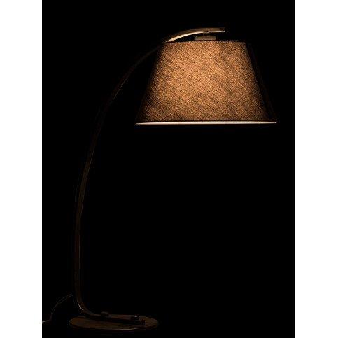 Lampe Arrondie Métal Noir | www.cosy-home-design.fr