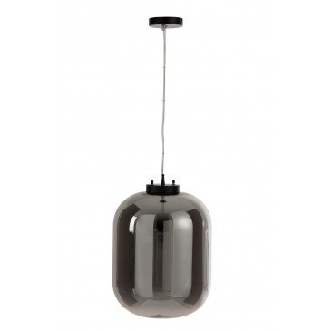 Suspension Miroir Verre Argent | www.cosy-home-design.fr