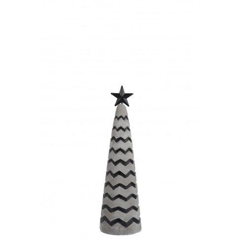 Sapine de Noël Ciment Gris/Noir S   www.cosy-home-design.fr