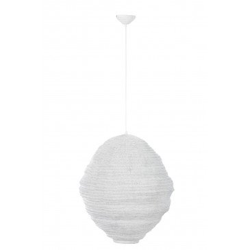 Suspension Gaze Métal Blanc | www.cosy-home-design.fr