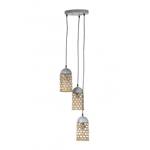 Suspension 3 Bambou Naturel | www.cosy-home-design.fr