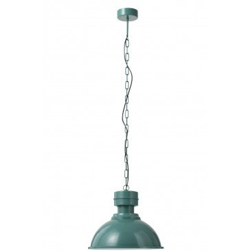 Suspension Ronde Métal Vert | www.cosy-home-design.fr