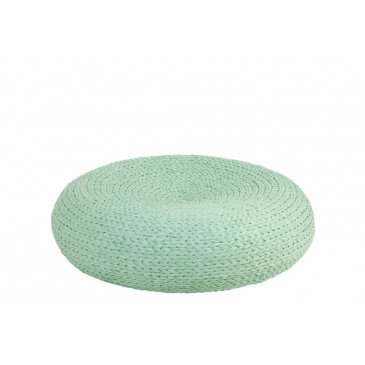 Pouf Rond Azur | www.cosy-home-design.fr