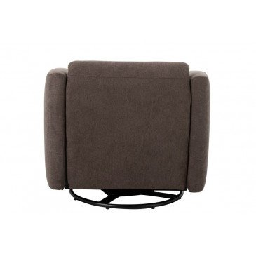 Fauteuil/Relax 1 Personne Lin Marron | www.cosy-home-design.fr