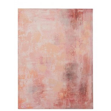Peinture Taches Abstrait Canevas Rose Mix | www.cosy-home-design.fr